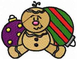 Ornament Gingerbread embroidery design