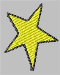 Lone Star embroidery design