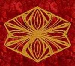 Golden Diamond embroidery design