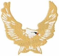 Spread Eagle embroidery design