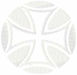 Iron Cross embroidery design