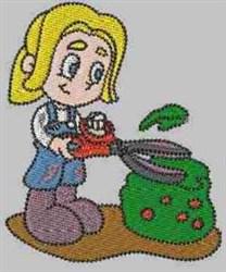 Cutting Hedge Carla embroidery design