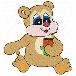 Candy Bar Bear embroidery design