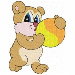 Candy Bear embroidery design