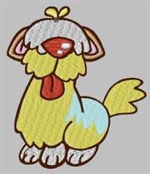 Shaggy Doggy embroidery design