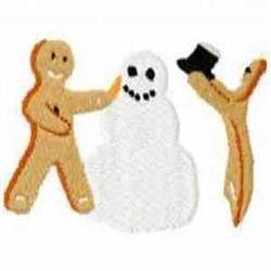Gingerbread Saturday embroidery design