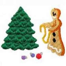 Gingerbread Tuesday embroidery design