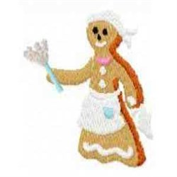 Gingerbread Wednesday embroidery design