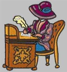 Elegant Lady embroidery design