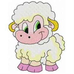 Baby Sheep embroidery design