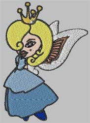 Fairy Girl embroidery design