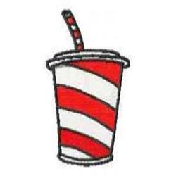 Soda embroidery design