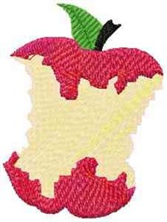 Shaded Apple embroidery design