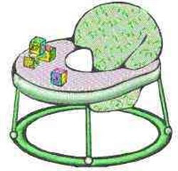 Baby Walker embroidery design