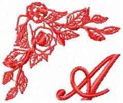 Valentine Font A embroidery design