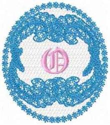 Victorian Lace O embroidery design