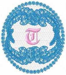 Victorian Lace T embroidery design