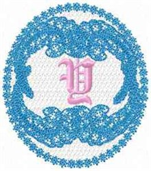 Victorian Lace Y embroidery design