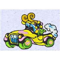Funny Car embroidery design