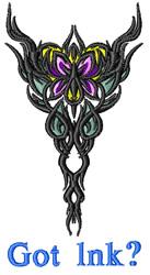 Got Ink Tattoo embroidery design