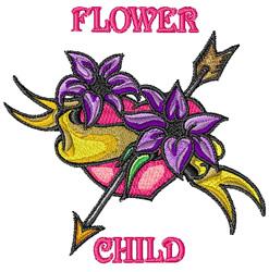 Flower Child Tattoo embroidery design