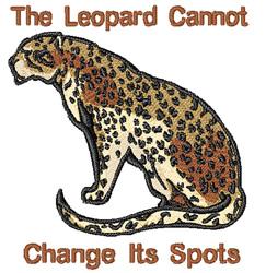 Leopard Spots embroidery design