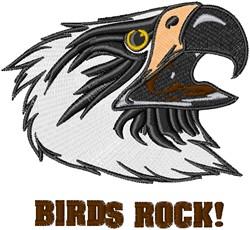 Eagles Rock embroidery design