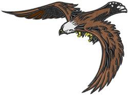 Eagle Leader embroidery design
