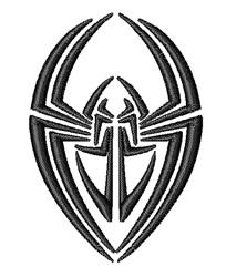 Spider Tattoo embroidery design
