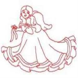 RW Angel Joyce embroidery design