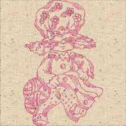 RW Sewing Woman embroidery design
