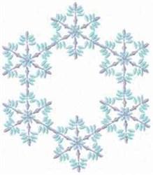 Christmas Fantasy Alphabet Frame embroidery design