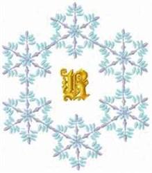 Christmas Fantasy Alphabet R embroidery design