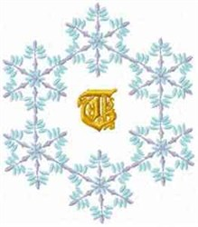 Christmas Fantasy Alphabet T embroidery design