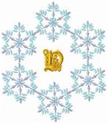 Christmas Fantasy Alphabet V embroidery design
