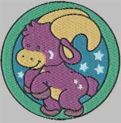 Capricorn Symbol embroidery design