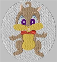 Squirrels Patches  embroidery design