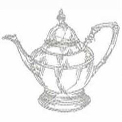 RW Teapot embroidery design