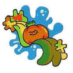 Cartoon Tomato embroidery design