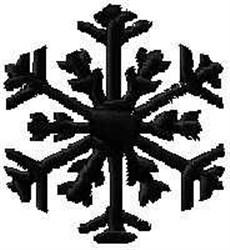 Winter Snow Flake embroidery design