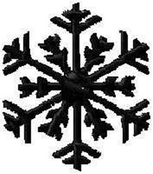Ice Crystal embroidery design