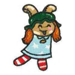 Happy Doll embroidery design