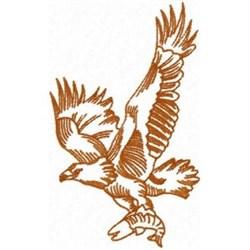 Fish Eagle embroidery design