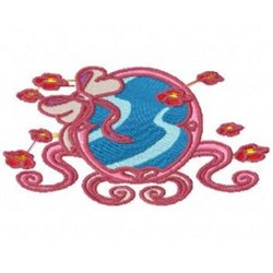 Red Hat Mirror embroidery design
