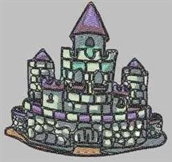 Stone Castle embroidery design