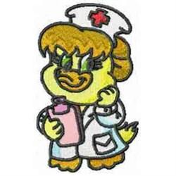 Ducky Nurse embroidery design