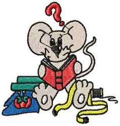 Sewing Mouse embroidery design