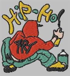 Hip-Hop Boy embroidery design