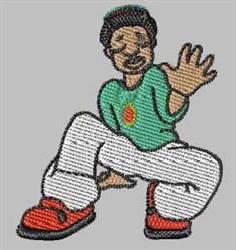Hip Hop Kid embroidery design