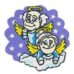 Angels In Heaven embroidery design